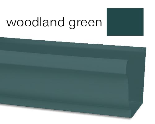 Woodland Green Seamless Gutters